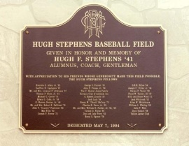 ballpark-plaque-hugh-stephens-baseball-field