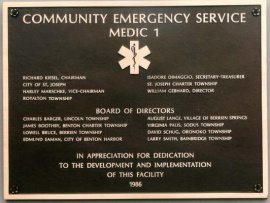 organization-identification-plaque-community-emergency-service