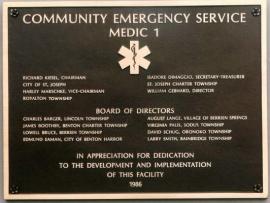 organization-identification-plaque-community-emergency-service