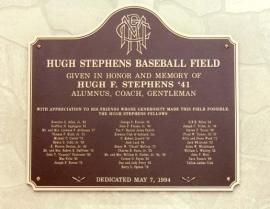 ballpark-plaque-hugh-stephens-baseball-field