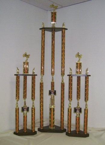 Multi Column Trophies Vegas Trophies