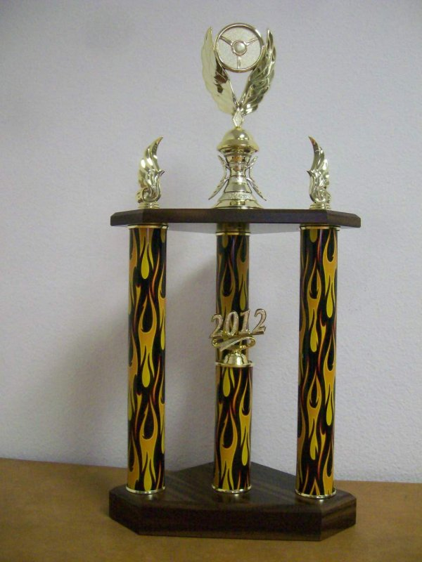 Multi Column Trophies Vegas Trophies