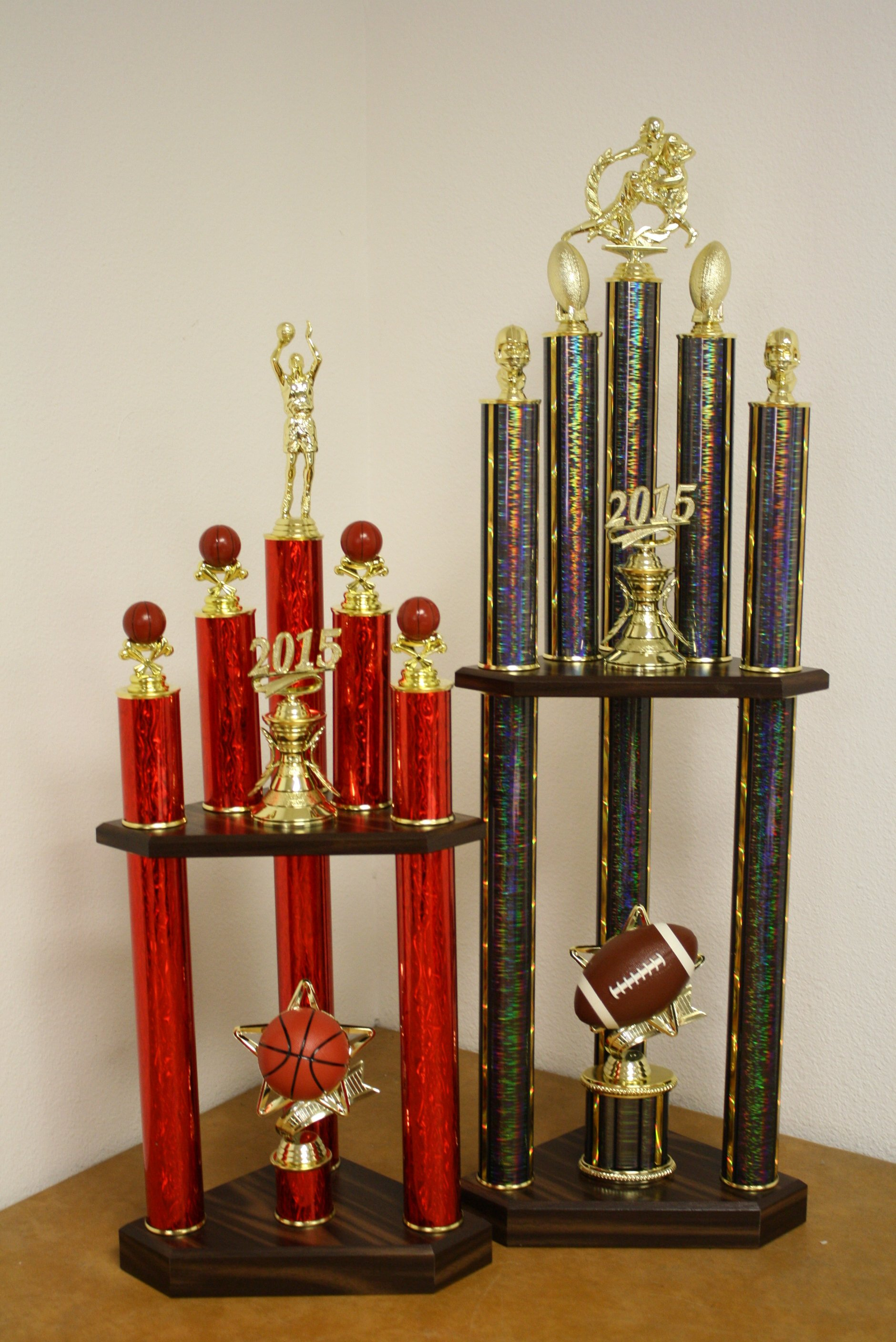 Multi Column Trophies - Vegas Trophies